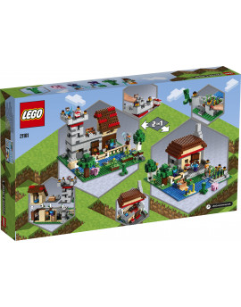 21161 LEGO® Minecraft™ Kreatywny warsztat 3.0