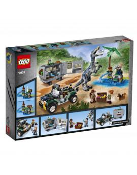 75935 LEGO® Jurassic World Starcie z barionyksem: poszukiwanie skarbów